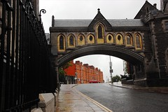 CathedralBridgeDublin (danieldart72) Tags: bridge ireland dublin rain christcathedral nikon1685