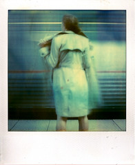 (Raymond Molinar) Tags: from camera new york film train polaroid sx70 exposure riverside time 10 annie land second expired zero artlibre raymondmolinarblogspotcom