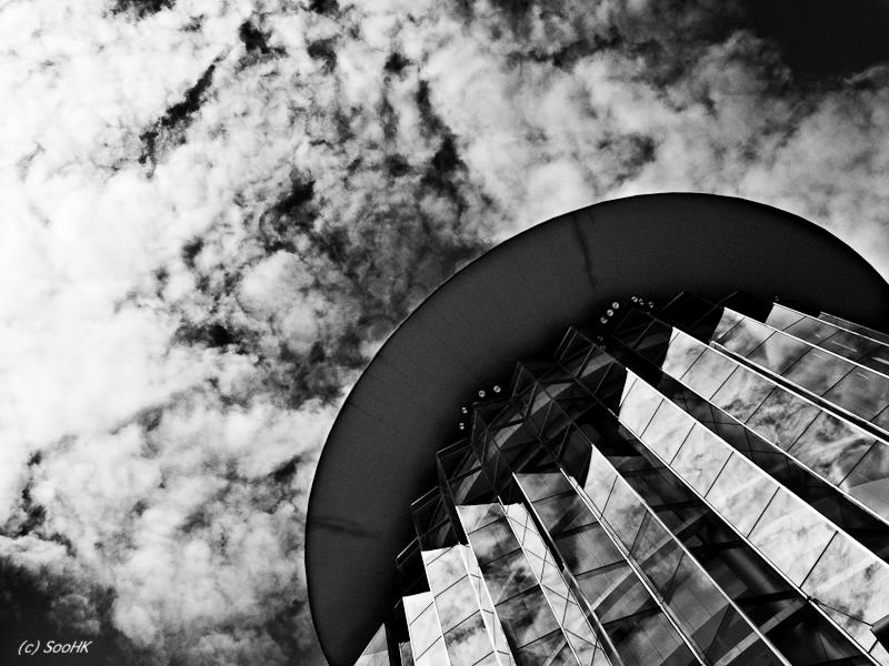 Siam Paragon in Black and White @ Bangkok, Thailand