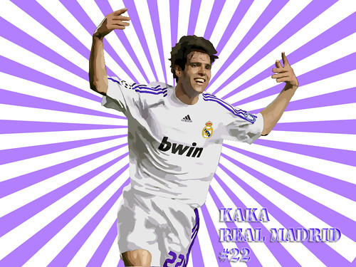 kaka_vector_real madrid