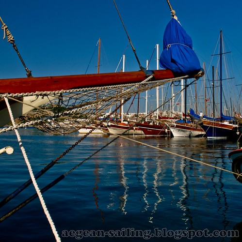 Gulets at Bodrum Marina