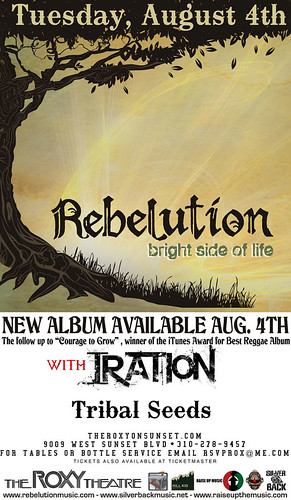 Rebelution August 4, 2009