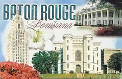 Baton Rouge, Louisiana: State Capitol (dawlin1) Tags: us louisiana state postcard capital postcrossing capitol batonrouge swap trade