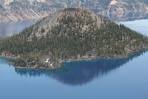 Crater Lake - the island