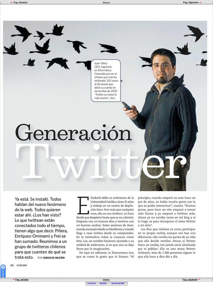REVISTA EL SABADO [27 de Junio de 2009]