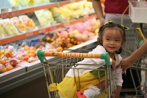 pixie, shopping
