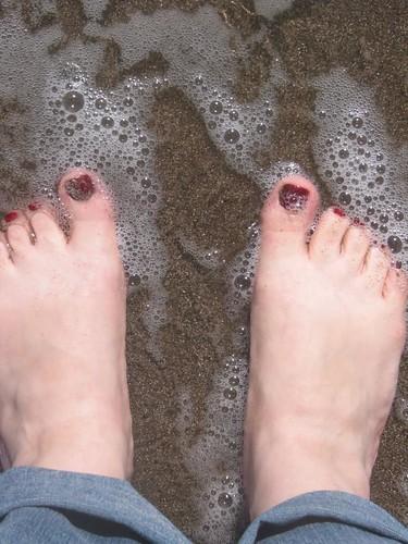 Stinson Beach Toes