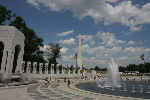 The National WWII Monument...