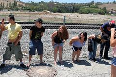 IMG_1553 (moonamtrak) Tags: girls moon girl train butt amtrak mooning laguna flashing metrolink amtrack niguel