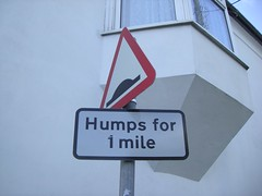 Humps for 1 mile