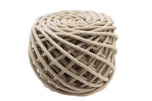 Rope Stool By Christien Meindertsma