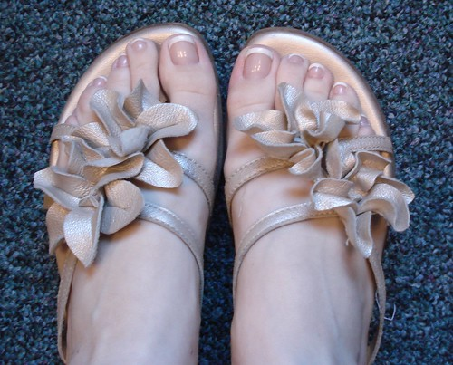suede flower born sandals dsw