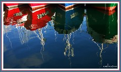 Espejo (celicom) Tags: reflections muelle galicia espejo reflexions lugo reflejos atraque burela marialucense reflectsobsessions ollodomar agarimodous marcialitoquinto nuevocristodelbuenviaje celicom solidarityagainstcancer solidaridadcontraelcncer