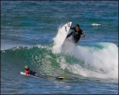 "Summer session in Mundaka ""IAN"" (Martin´s) Tags: ocean blue sea summer beach colors sport cool surf waves extreme places julio verano olas euskalherria deportes mundaka espectacular interesantisimo"