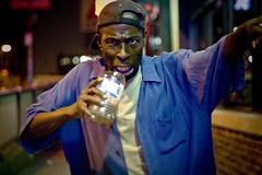 (morgan.laforge) Tags: summer man drunk homeless monday stuffmagazine