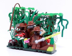 Jungle Jawas (Drizdar) Tags: star treasure lego 4 jungle wars jawa yavin