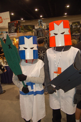 Comic Con 2009: castle crashers