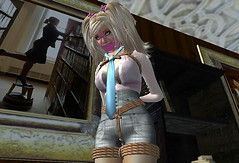 I didn't get the memo typed quick enough (Chrissy Hobble) Tags: stockings fetish uniform bondage rubber secondlife sissy latex secretary schoolgirl maid nylons corsets garterbelt garters balletboots forcedfeminization dollification