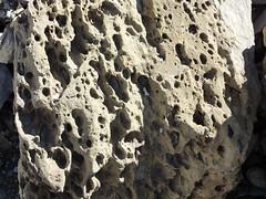 Détail géologique au col des Chambres - Refuge de Folly -Samoëns 4 et 5/08/09