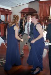 Abigail & Doug's Wedding (Joe Shlabotnik) Tags: jeff dancing christine 1999 jenm may1999