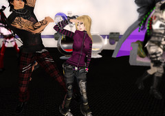Fracture Surprise Party 2 (Beca Staheli) Tags: life gay boy cute couple girly feminine avatar emo crossdressing secondlife kawaii second yaoi fracture trap effeminate androgynous bishonen prettyboy femboy femboi