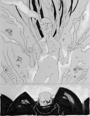Singulairty7 Original art page