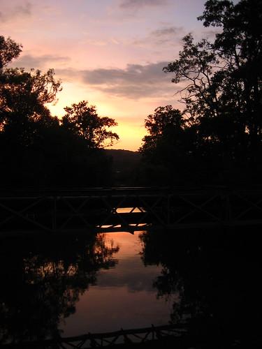 ithaca sunset