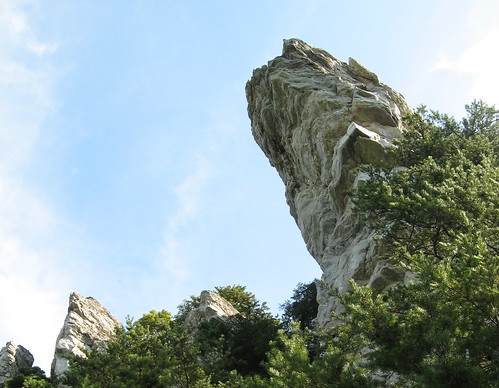 First sight of Hanging Rock