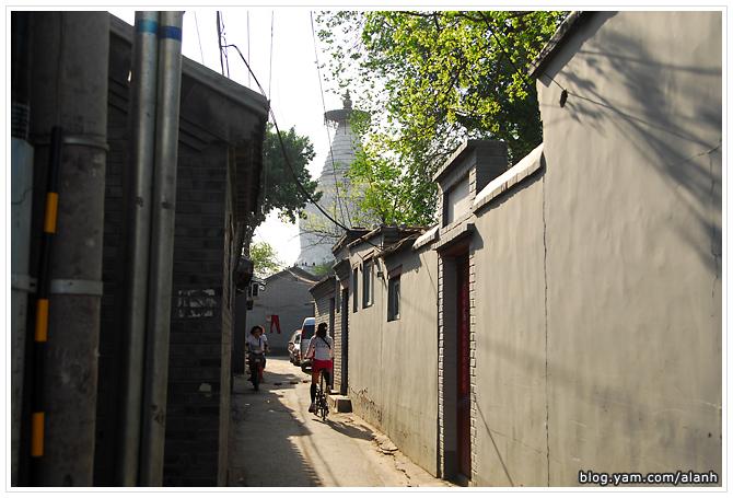 黃艾倫單車遊北京 Photo by LX3