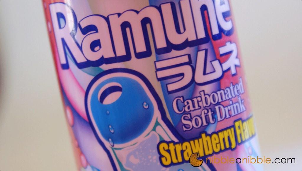 Strawberry Flavor Ramune