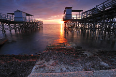10 (andread881) Tags: longexposure sunset sea house seascape storm landscape nikon tramonto mare cloudy 1020 santamarinella landingstage pontile sunligth civitavecchia