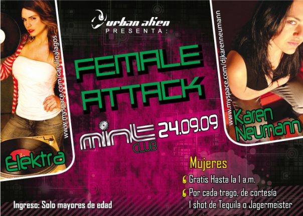 Female Attack