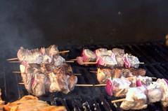 lamb kebabs, grilling