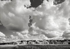 (Mann-ist-0) Tags: blackandwhite bw cloud clouds suburban vanda suburb vantaa niksilverefexpro