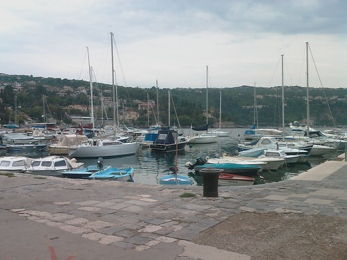 Un dels ports de la regió...
