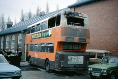 Hot Seat (georgeupstairs) Tags: fire burn lada 1973 arson daimler fleetline scorch greatermanchestertransport 7296 northerncounties crg6lxb wwh61l