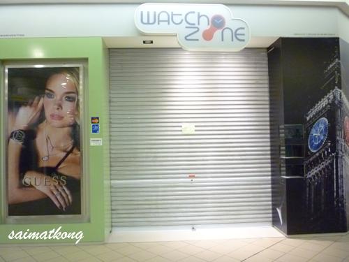 Banyak Shop @ 1Utama Closed for Raya Holiday