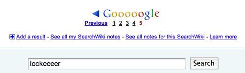 Google Pagination Bug