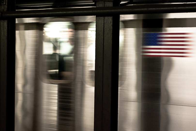 Commuting in America Town (3/365)