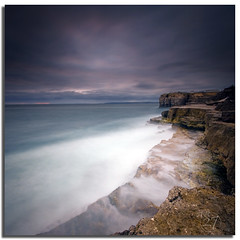 Portland Bill Continued (Aaron_Bennett) Tags: uk longexposure blue sunset sky motion color art clouds dark photography portlandbill sigma1020mm dorest nd110 aaronbennett vertorama nikond300