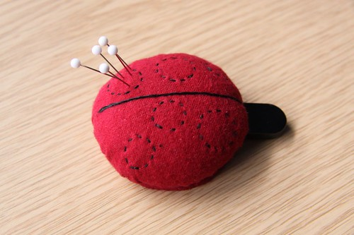 Ladybird USB pincushion