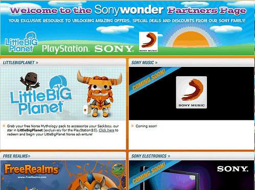LBP Sony Wonder