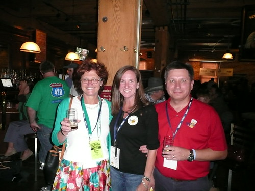Carol Stoudt, Amy Dalton & Rick Lyke @ Rare Beer Tasting