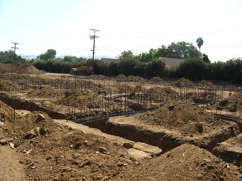 Housing Development Construction New Housing Development at