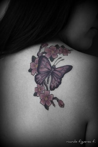 Tatuajes de flores.,