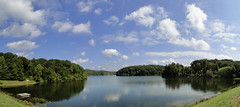 Panorama of Springs Valley Lake (W9NED) Tags: panorama nature america wonder midwest peaceful indiana northamerica natures colorphotoaward springsvalleylake dschx1