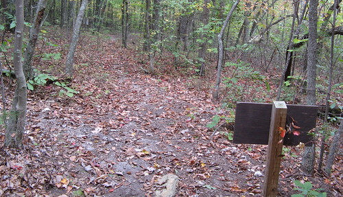 Key trail sign