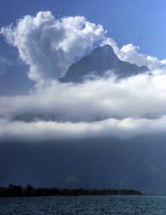 Switzerland: Mountain in the Sky (Tim Blessed) Tags: sky mountains nature clouds switzerland landscapes scenery lakes justclouds superaplus aplusphoto singlerawtonemapped alemdagqualityonlyclub newgoldenseal