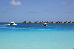 Blue Sea @ Angsana (Mohmed Althani) Tags: travel sea sky male beach water canon photo sand exposure sailing bluewater powershot maldives angsana 50d topshots photosandcalendar panoramafotografico