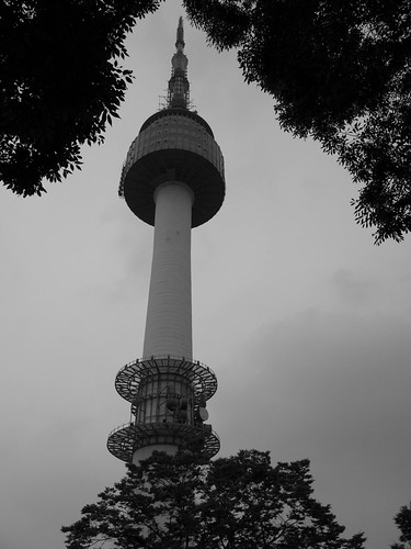 Tower BW